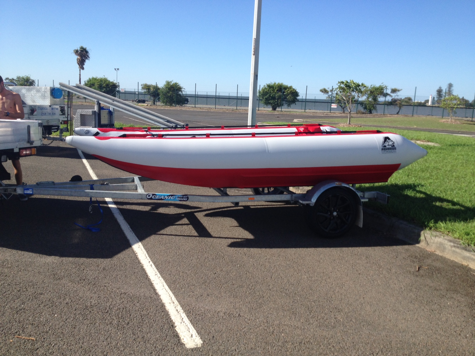 4.4m Aquacat Race Boat